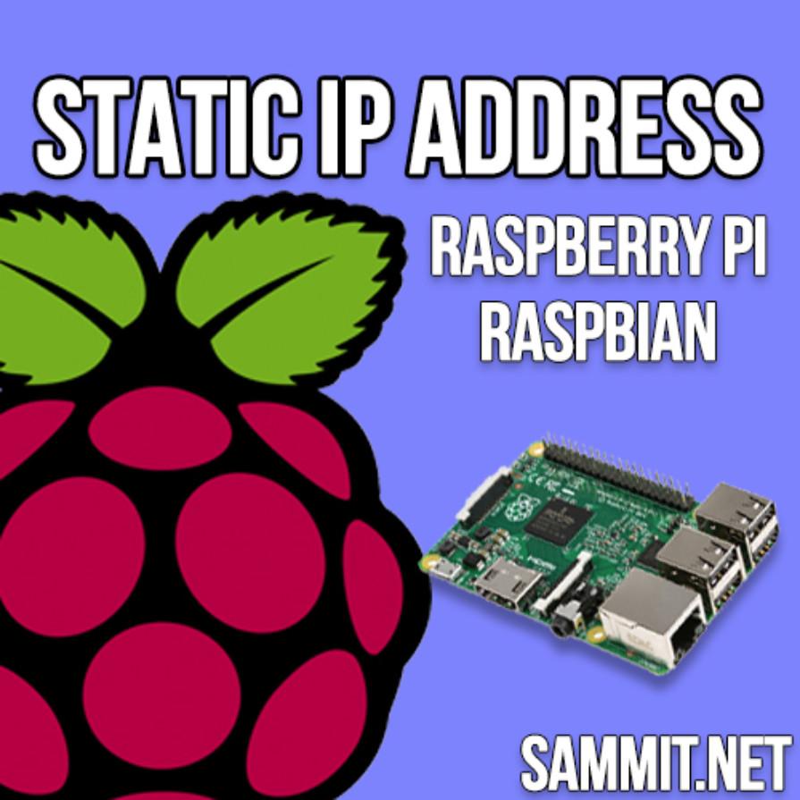 Static IP Address Raspberry Pi