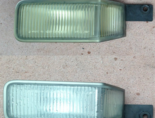 Restoring Car Lights