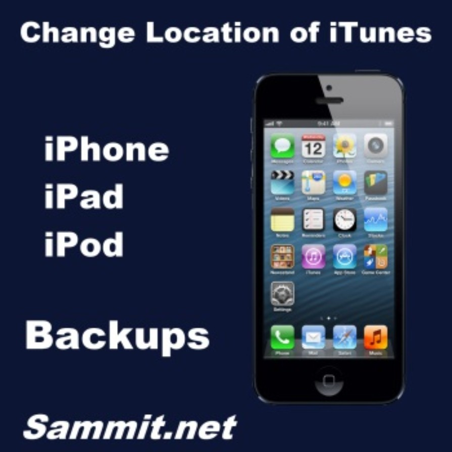 iphone backup location how to change the location of your itunes iphone or 11624