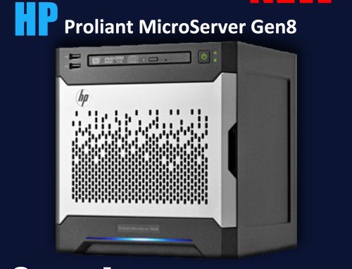 First look at the HP Proliant MicroServer Gen8