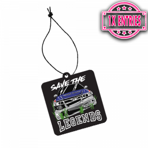 SAVE THE LEGENDS AIR FRESHENER