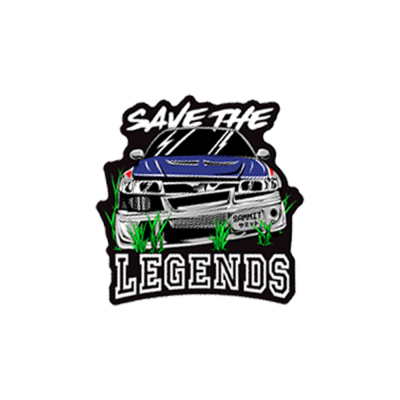 SAVE THE LEGENDS STICKER